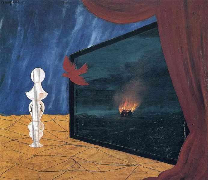 Nocturne, 1925 - Рене Магритт