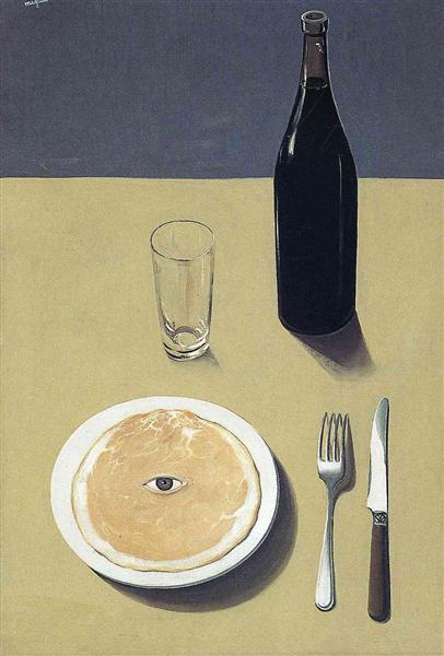 Portrait, 1935 - Rene Magritte