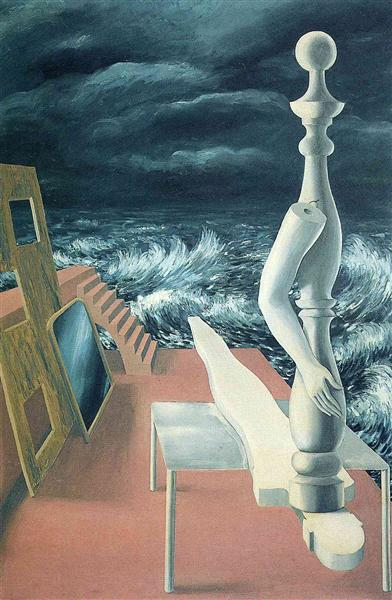 The birth of idol, 1926 - Rene Magritte