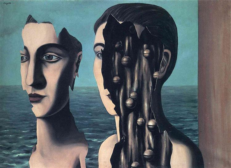 The double secret, 1927 - René Magritte