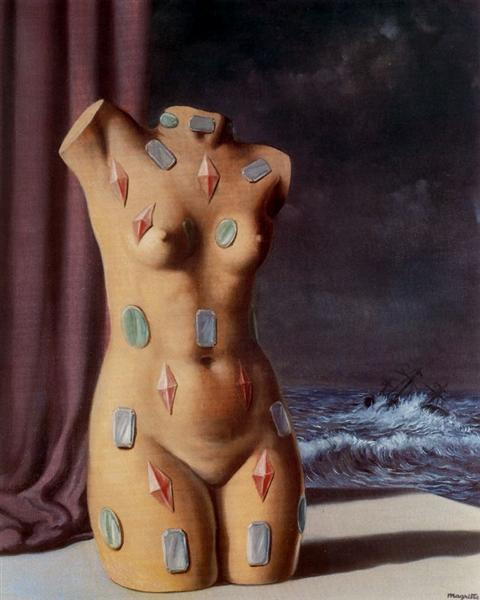 The drop of water, 1948 - Rene Magritte