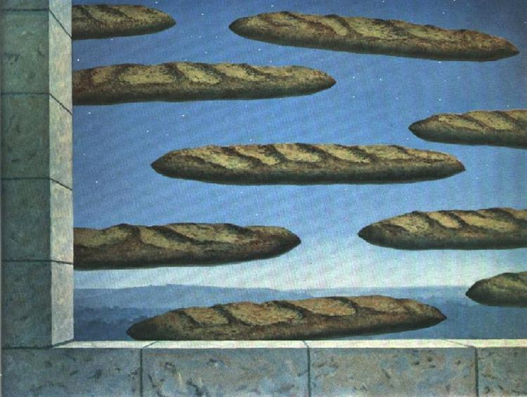 The golden legend, 1958 - René Magritte