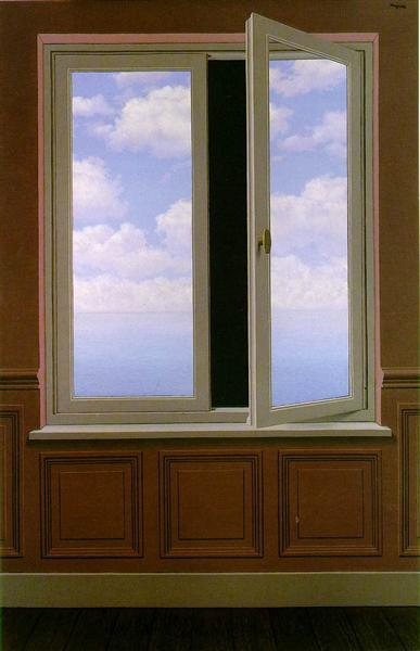 The looking glass, 1963 - Rene Magritte