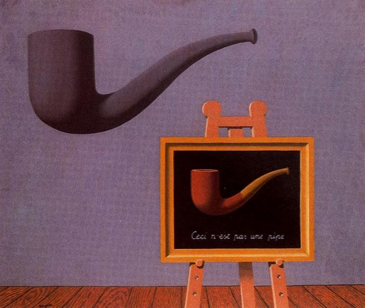 The two mysteries, 1966 - Rene Magritte