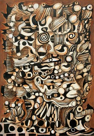 Ornamental Figure, 1968 - Rene Portocarrero