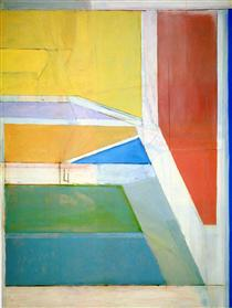 Ocean Park No. 27 - Richard Diebenkorn