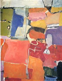 Urbana No. 62 - Richard Diebenkorn