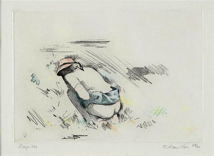 Esquisse, 1972 - Richard Hamilton