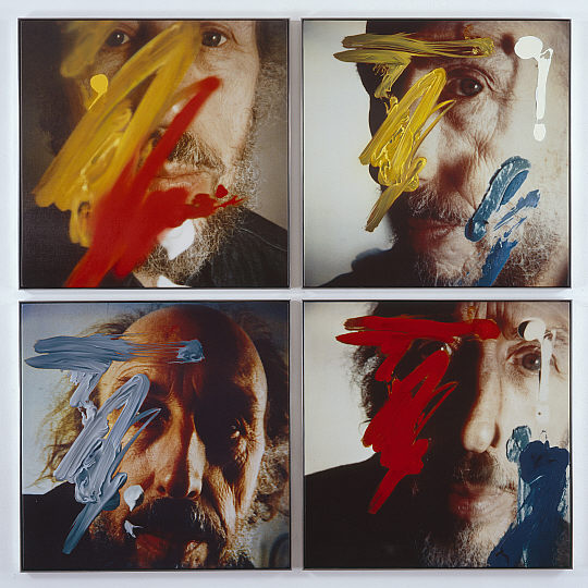 Four Self-Portraits 05.3.81, 1990 - Richard Hamilton