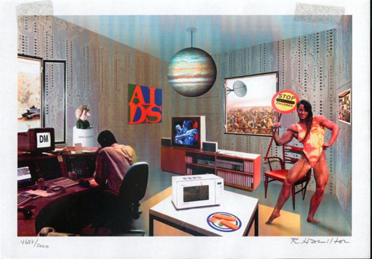 Just what is it that makes today's homes so different, 1992 - Richard Hamilton