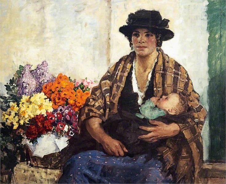 The Flower Seller - Річард Джек