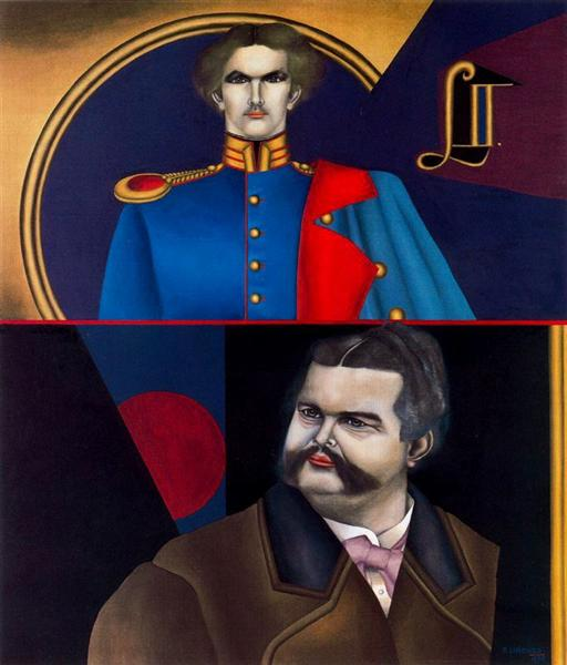 Ludwig II, 1974 - Richard Lindner