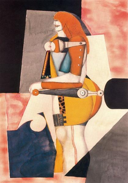 Woman - Richard Lindner