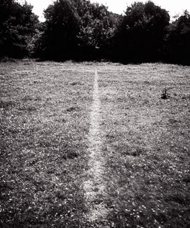 A Line Made by Walking, 1967 - Richard Long