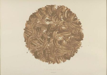 River Avon mud drawing, 1983 - Річард Лонг