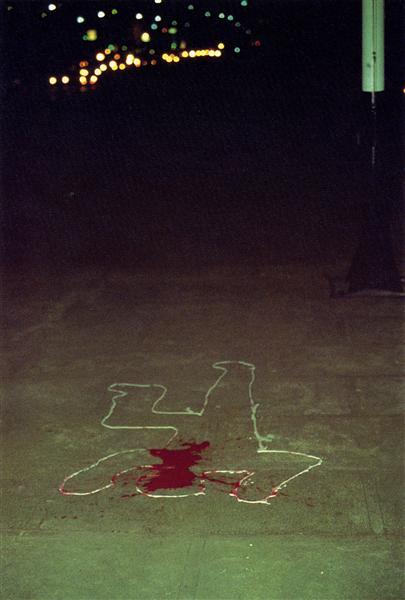 Image Mass Murder, c.1977 - Richard Hambleton