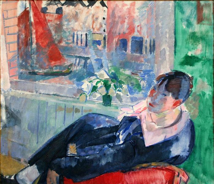 Afternoon in Amsterdam, 1915 - Rik Wouters