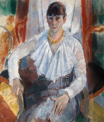 Woman in White, 1915 - Rik Wouters