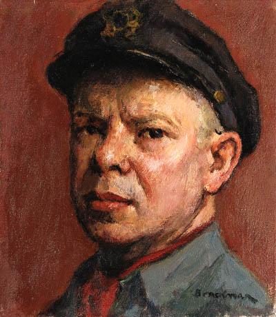 Self-Portrait - Robert Brackman