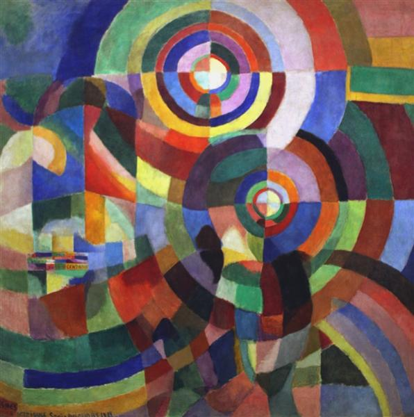 Rythm, 1934 - Робер Делоне
