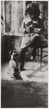 Jack and His Dog - Robert Demachy