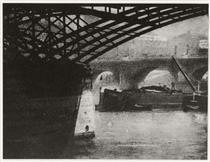 Le Pont des Arts - Robert Demachy