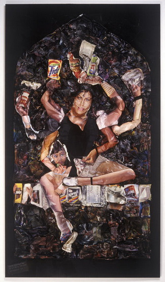 Shiva Manifesting as a Single Mother, 1989 - Роберт Хайнекен
