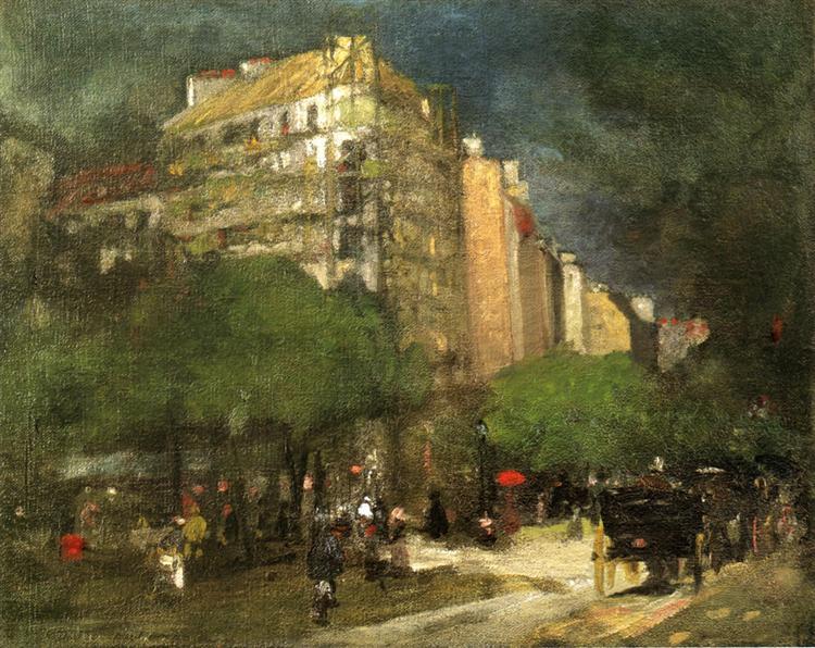 Cafe du Dome, 1892 - Роберт Генрі
