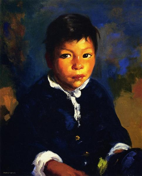 Juanita (also known as Little Half Breed), 1917 - Роберт Генри