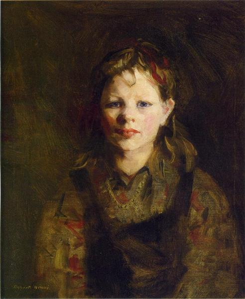 Little Dutch Girl - Robert Henri