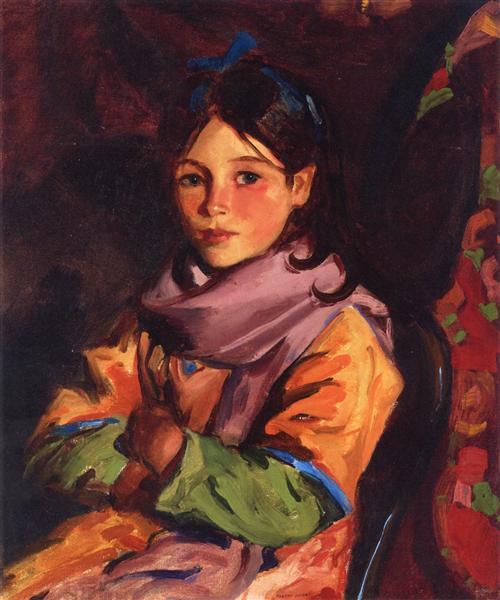 Mary Agnes, 1924 - Robert Henri