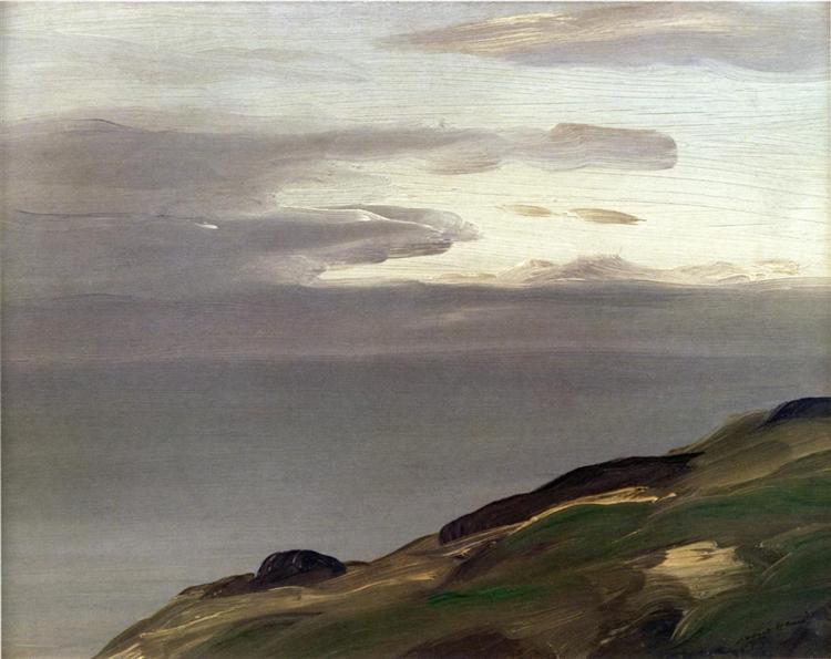 Monhegan Island, Maine, 1911 - Robert Henri