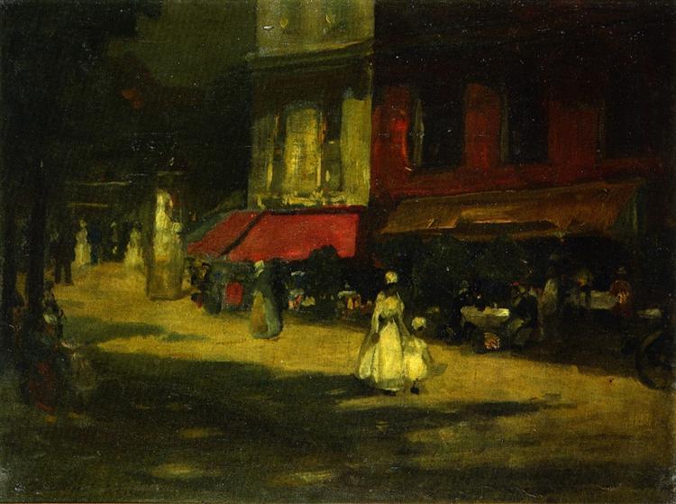 Montparnasse, 1898 - Robert Henri