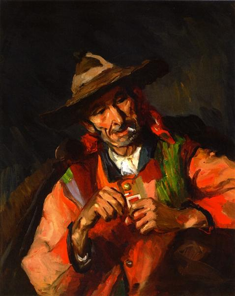Old Spaniard, 1923 - Robert Henri