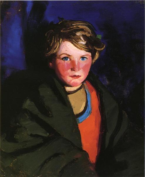 Portrait of Catherine O'Malley, 1924 - Robert Henri