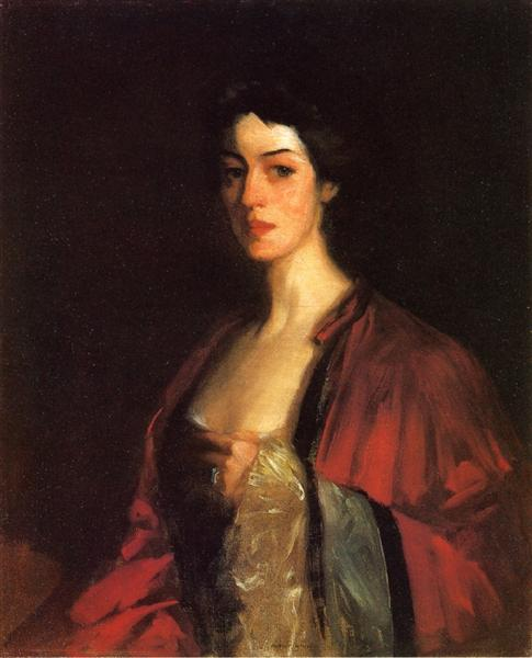 Portrait of Katherine Cecil Sanford - Robert Henri