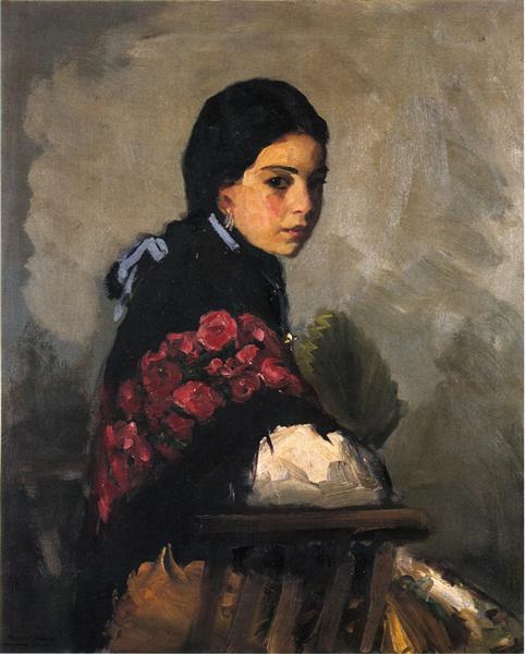 Spanish Girl, 1912 - Роберт Генри