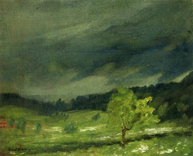 Summer Storm, 1902 - Robert Henri