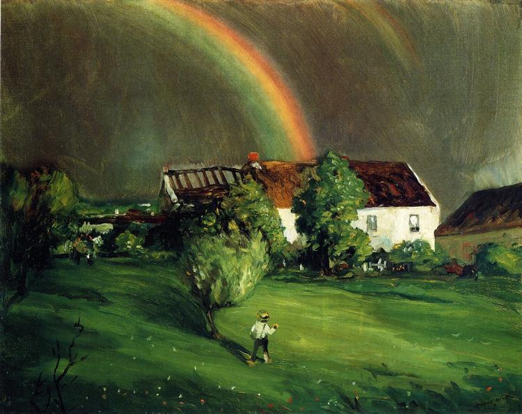 The Rainbow, Hormandie, 1902 - Robert Henri