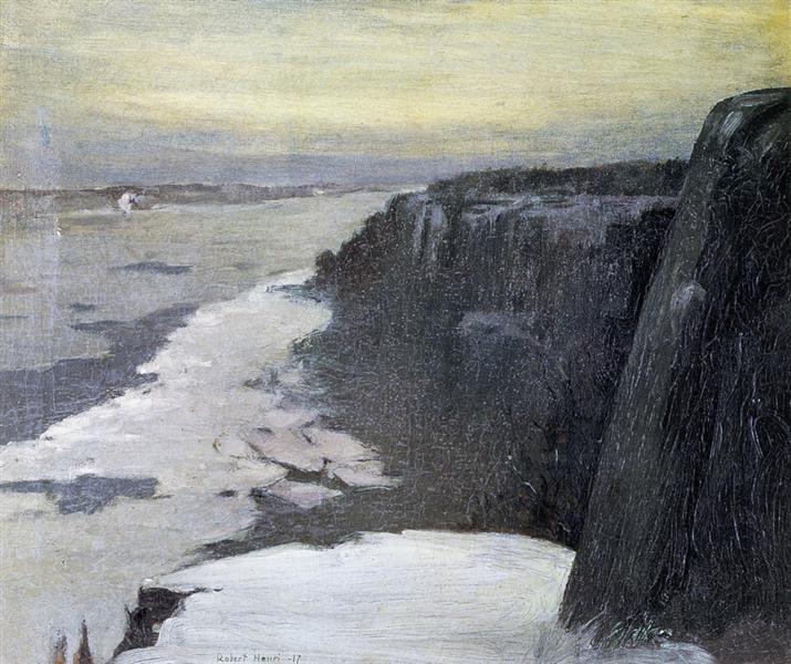 Upper Hudson, 1917 - Robert Henri