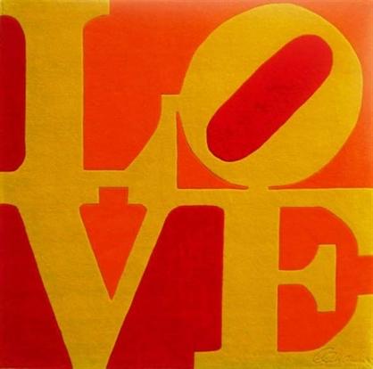 Chosen Love, 1995 - Robert Indiana