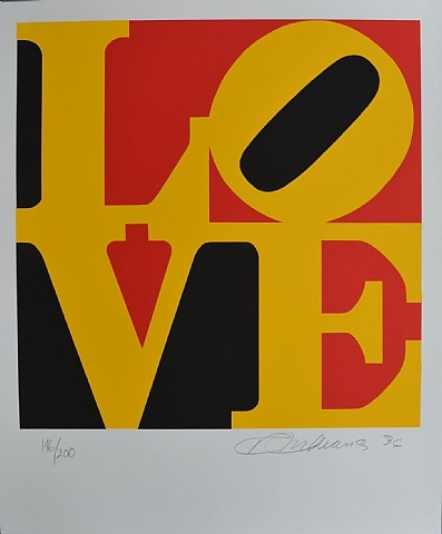 German Love, 1996 - Robert Indiana