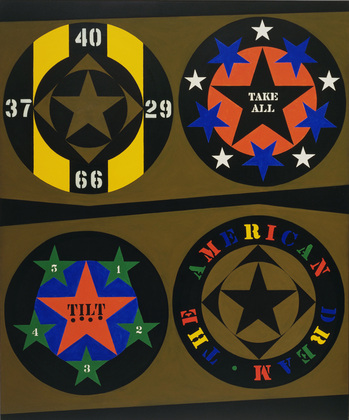The American Dream, I, 1961 - Robert Indiana