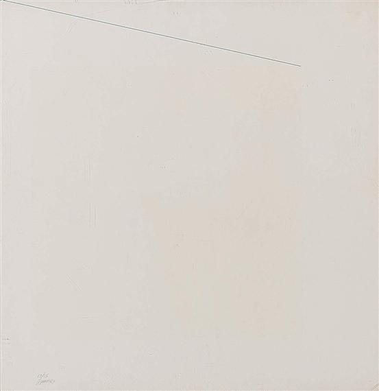 Blue Line - Robert Ryman
