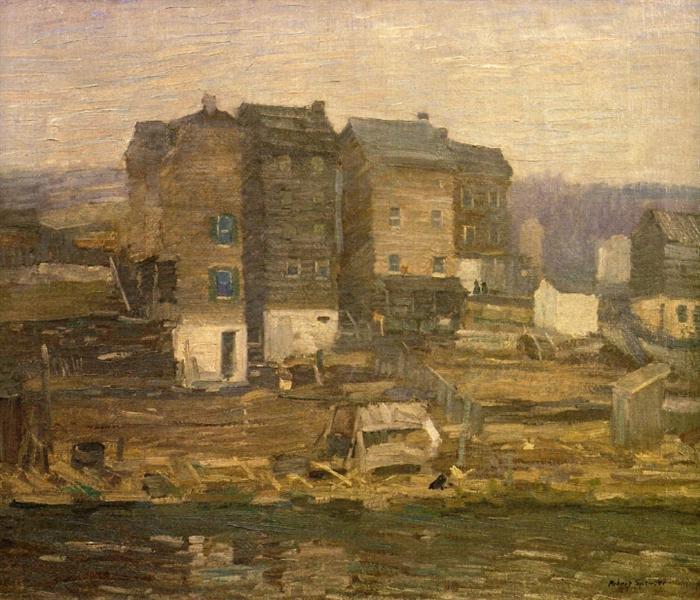 A Gray Day, 1912 - Роберт Спенсер