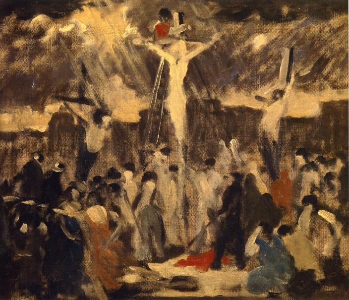 Crucifixion, Sketch #3, 1930