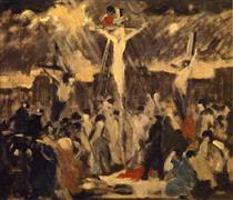 Crucifixion, Sketch #3 - Robert Spencer