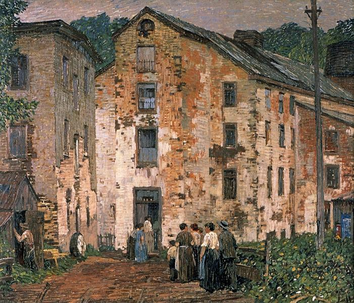 Grey Mills, 1915 - Robert Spencer