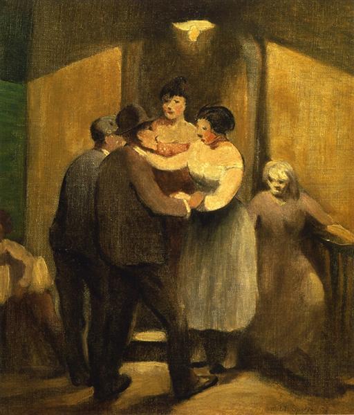 Night Life, 1931 - Robert Spencer