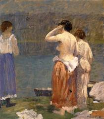 On the Bank - Robert Spencer